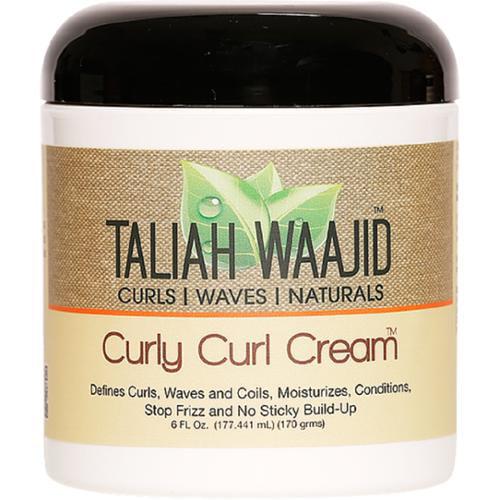 Taliah Waajid Curls, Waves & Naturals Curly Curl Cream, 6 oz (Pack of 3)