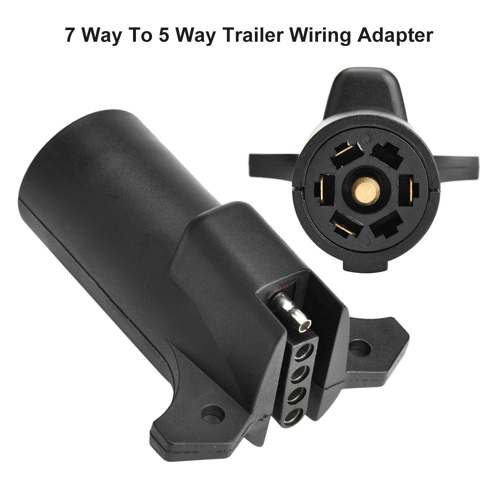 Ccdes 12v Truck Cable Connector  Trailer Light Plug  7 Way