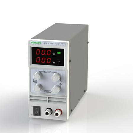 3 Digit Radar Display (Switching Display 3 Digits LED 0-30V 3A/5A/10A Mini DC Power Supply Variable Adjustable AC /220V)