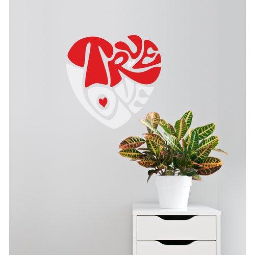ADZif Mia & Co True Love Wall Decal