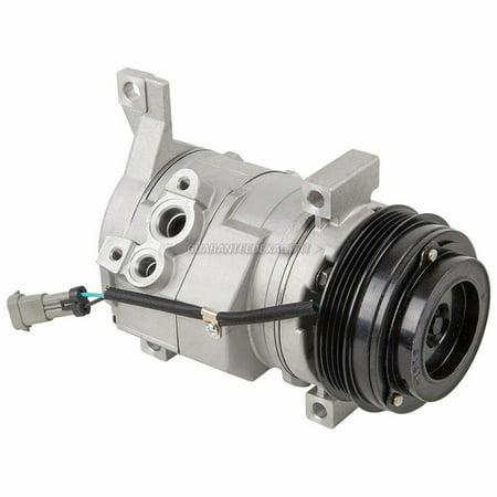 AC Compressor & A/C Clutch For Chevy Silverado Suburban Tahoe Avalanche -