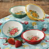 The Pioneer Woman Vintage Floral Mini Pie Plate Set, Set of 4