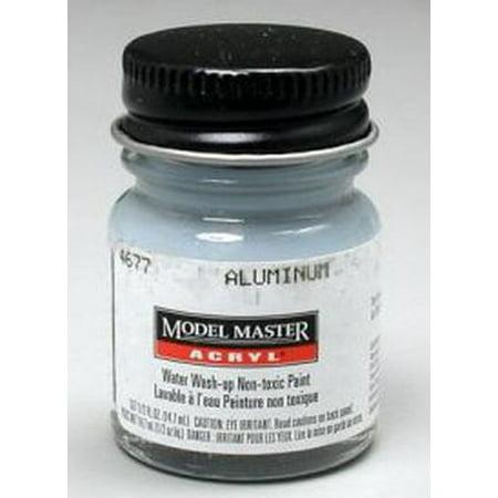 Aluminum Testors Acrylic Plastic Model Paint (Aluminum Acrylic)