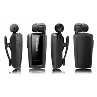 Azeca UA25 Mini Retractable Bluetooth Headset, Black