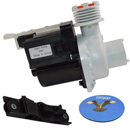 HQRP Drain Pump for Frigidaire FAFW3517KW1 FAFW3574KA0 FAFW3577KW1 FAFW3801LB0 FAHE4044MW0 FFFW4000QW0 FRFW3700LW0 FTF2140FE1 FTFB4000GS0 FTW3011KW0 Washer + HQRP -