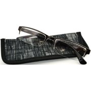 Foster Grant Men's Perry Reading Glasses, Brown