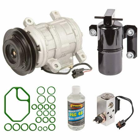 AC Compressor w/ A/C Repair Kit For Dodge Caravan & Plymouth Grand Voyager
