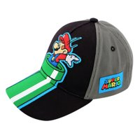 Nintendo Super Mario Character Baseball Cap, Little Boys, Age 4-7