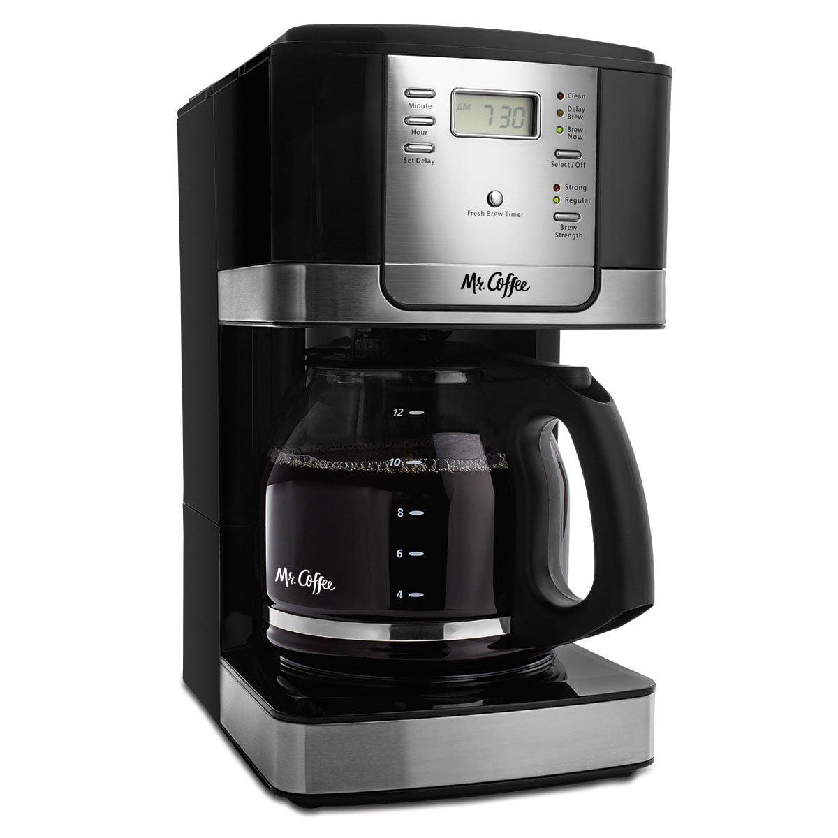 Mr. Coffee JWX27-NPA 12-Cup Progammable Coffeemaker  Black