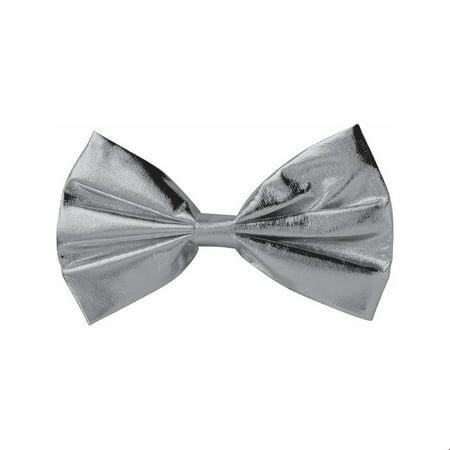 Halloween Costume Accessory Silver Bow Tie](Costume Bow Ties)