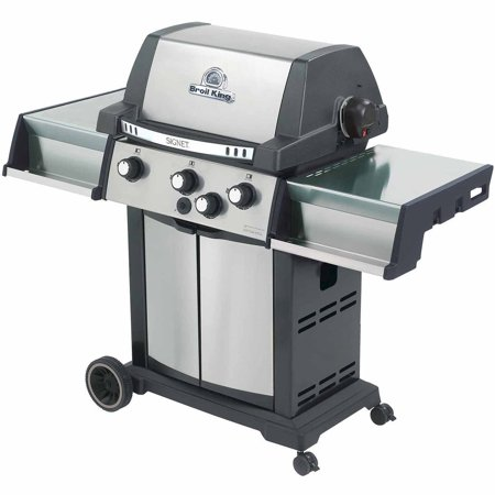 Broil King Grill Pro Black And Stainless Steel Signet 70 Gas Barbecue Grill