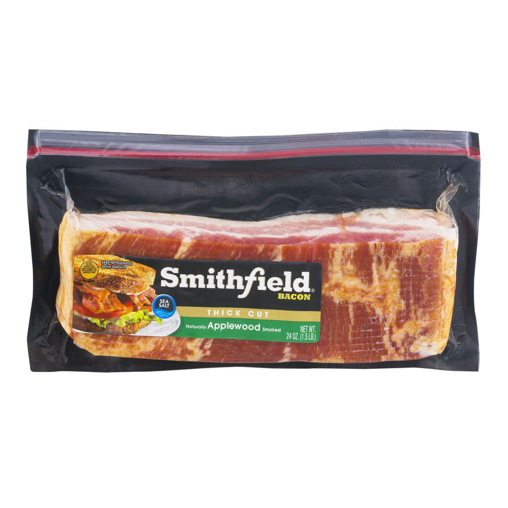 Smithfield Bacon Thick Cut Applewood Smoked, 24.0 OZ