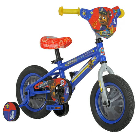 Nickelodeon's PAW Patrol: Chase Sidewalk Bike, 12-inch wheels, ages 2 - 4,