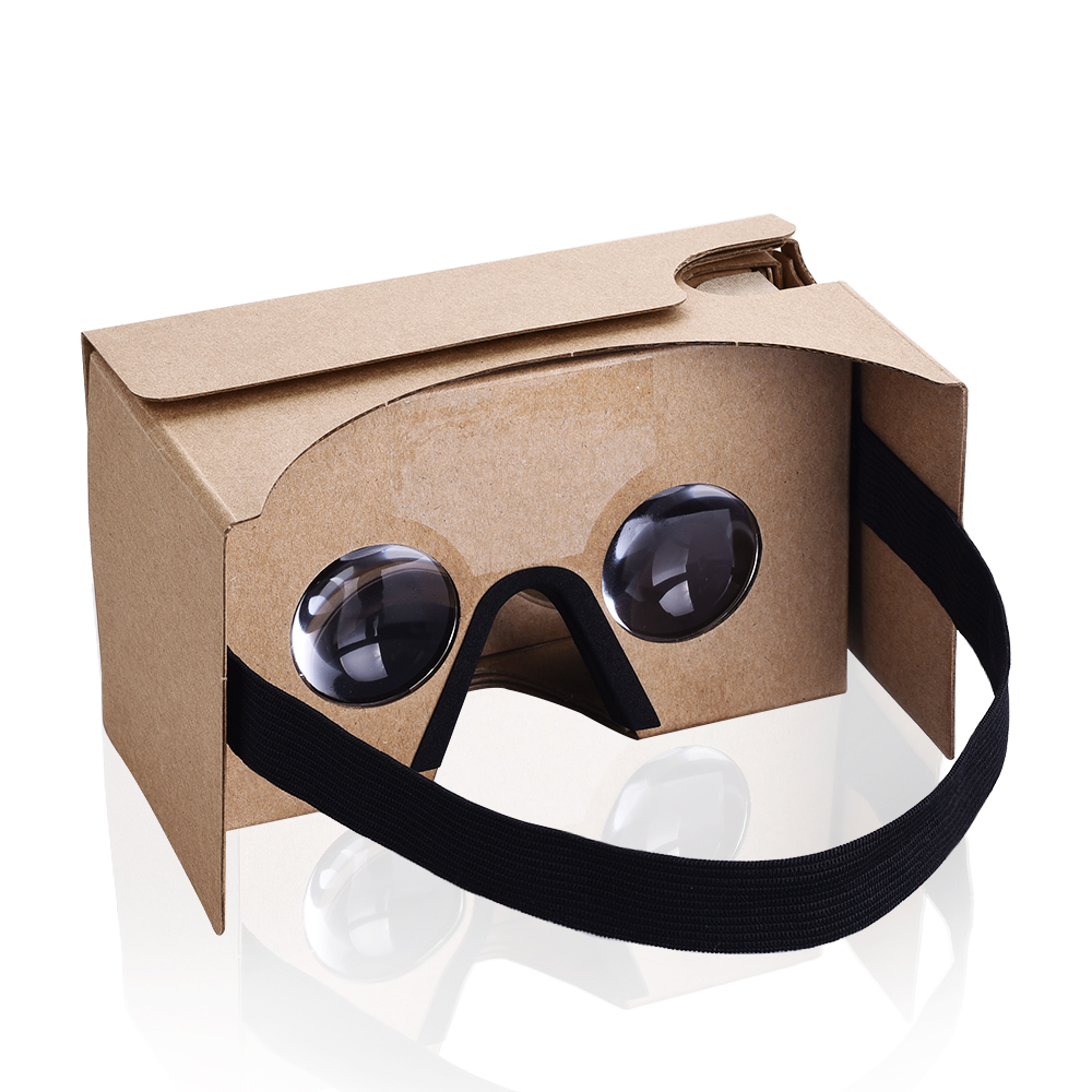 Cardboard 3D Virtual Reality 3D Glasses VR Headset for Smartphones iPhone 5s/6/6s/6 Plus/6s Plus Android Samsung HTC LG