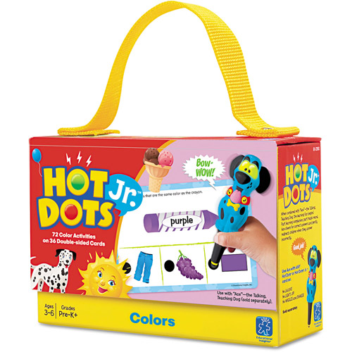 Educational Insights Hot Dots Jr. Cards - Colors