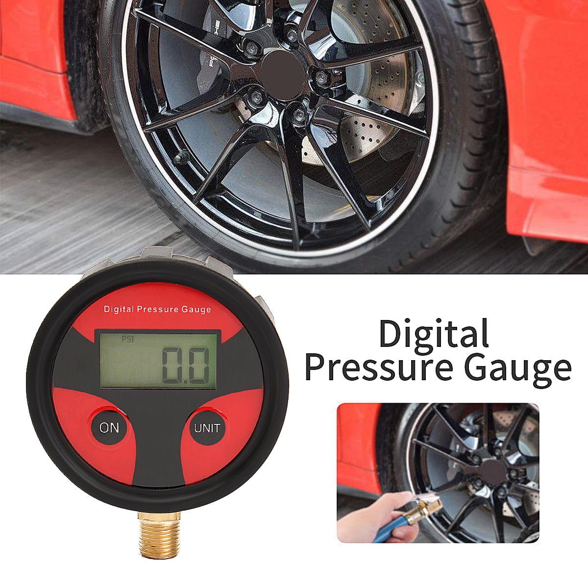 0-200PSI Digital Tyre Tire Air Pressure Gauge LCD Manometer Car Truck MotorBike