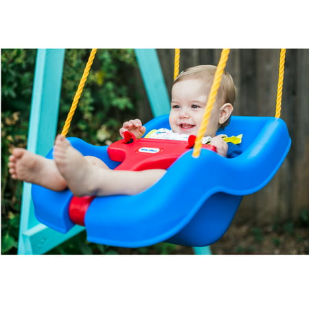 Best Little Tikes 2-In-1 Snug And Secure Swing - Blue deal