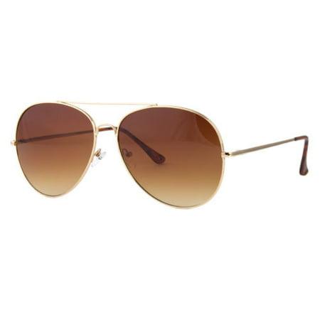Retro Aviator Sunglasses Vintage New Men Women Fashion Metal Frame Glasses