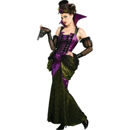 Womens Deluxe  Victorian Vampiress Vampire Costume (Womens Victorian Vampire Costume)