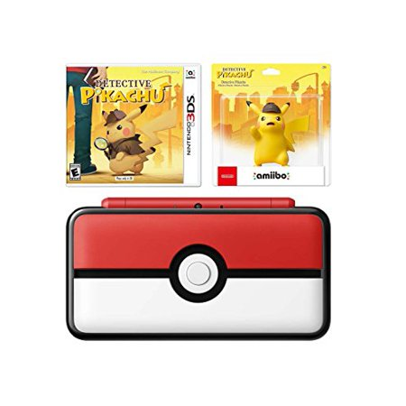 Nintendo New 2ds Xl Pikachu And Pokeball Bundle New Nintendo 2ds Xl