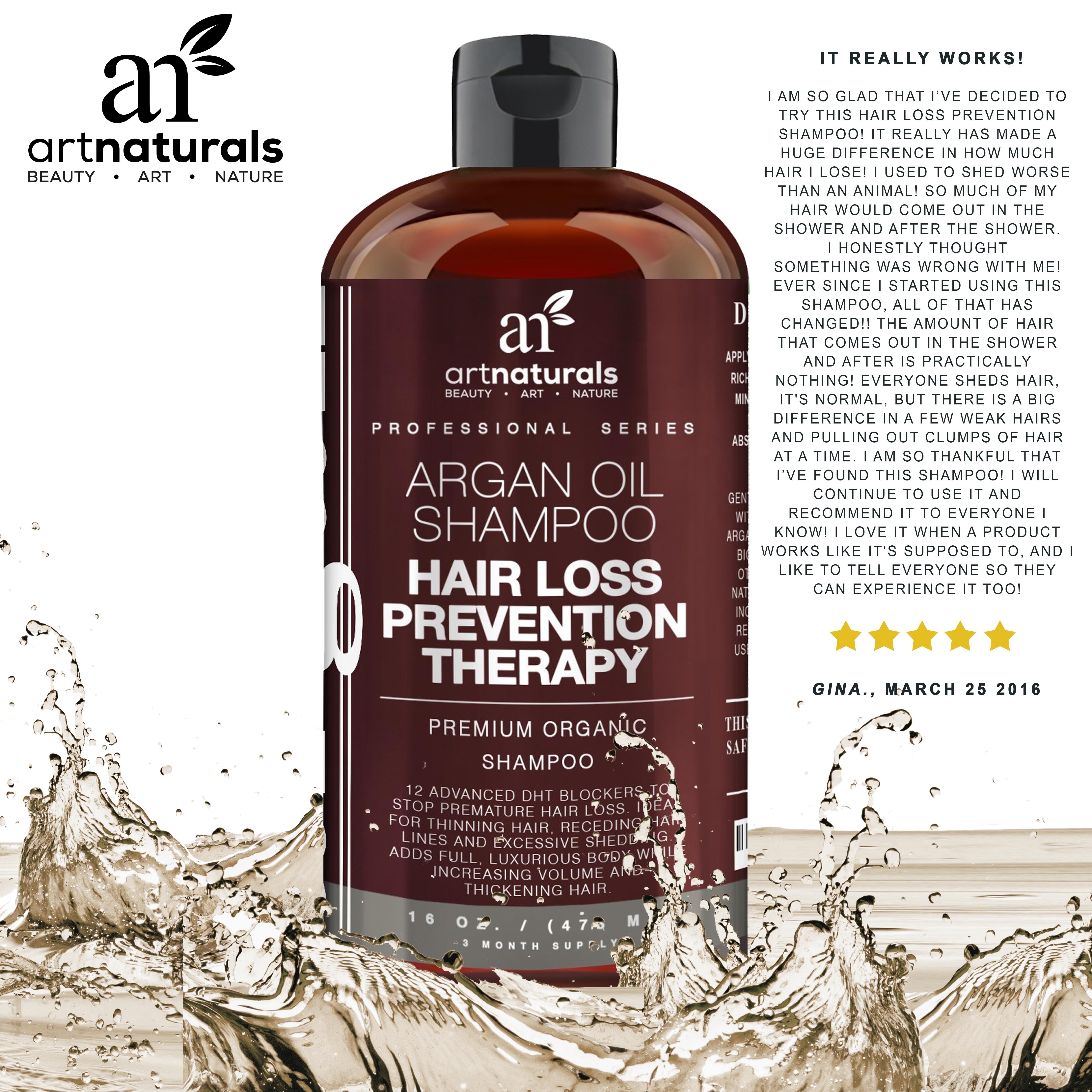 Best Natural Hair Shampoo For Hair Loss