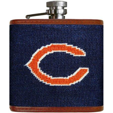 Chicago Bears Needlepoint Flask - No Size