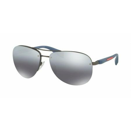 Prada Linea Rossa 56MS Ps 56ms Sunglasses DG12F2 Gunmetal