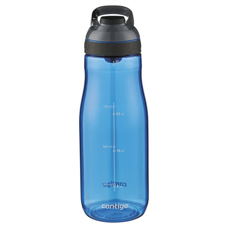 Contigo Cortland Autoseal 32 Ounce Plastic Monaco Water Bottle 32 Ounce Bubble Bottle