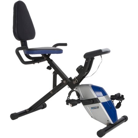 ProGear 190 Folding Recumbent Exercise Bike with Heart (Star Trac Nxt Spin Bike For Sale)