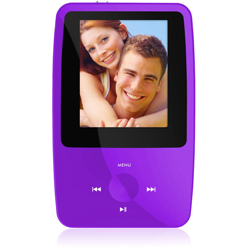 Ematic eSport Clip 4GB MP3 / Video Player w /  1.8 color display, Built - in 5MP Digital Camera, FM Radio, Voice Recording and more