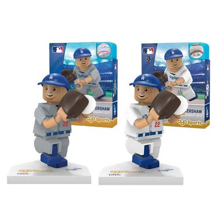 OYO MLB Gift Set - Los Angeles Dodger's Clayton Kershaw Set of 2 Baseball Gift Baskets