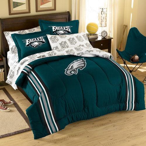 Northwest Co. NFL Philadelphia Eagles 7 Piece Full Bed in a Bag Set