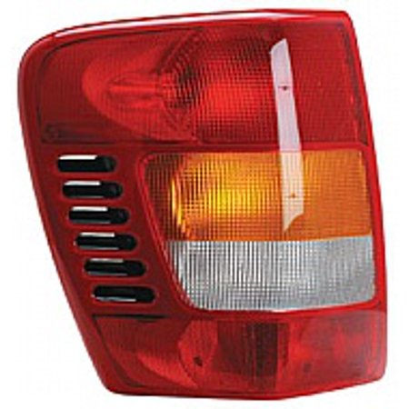 Tail Light Lens Assembly (Go-Parts » 2001 - 2004 Jeep Grand Cherokee Rear Tail Light Lamp Assembly / Lens / Cover - Left (Driver) 55155139AI CH2800150 Replacement For Jeep Grand Cherokee)