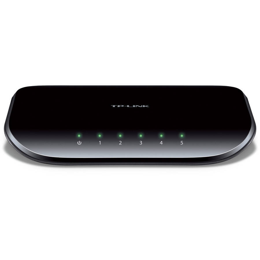 Click here to buy TP-LINK TL-SG1005D 5-Port Unmanaged Gigabit Ethernet Desktop Switch by Global Marketing.