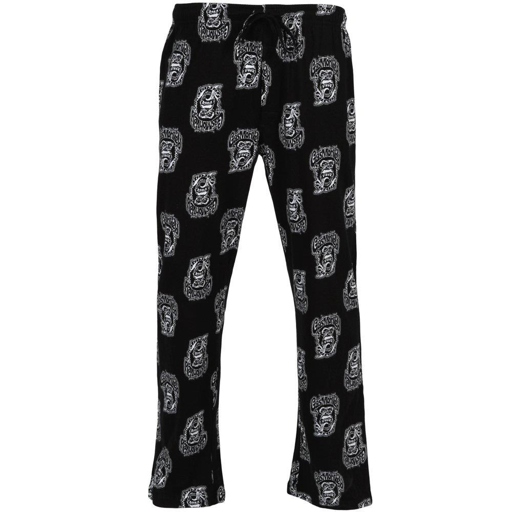 Gas Monkey Garage Mens Black Sleep Pants Pajama Bottoms