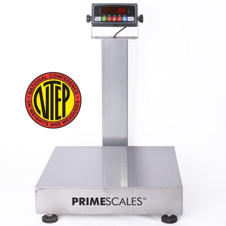 Prime Scales Carbon Steel NTEP Legal For Trade Bench Scale Shipping Scale Recycling Scale 12x12 inch - Trade Bench Scale
