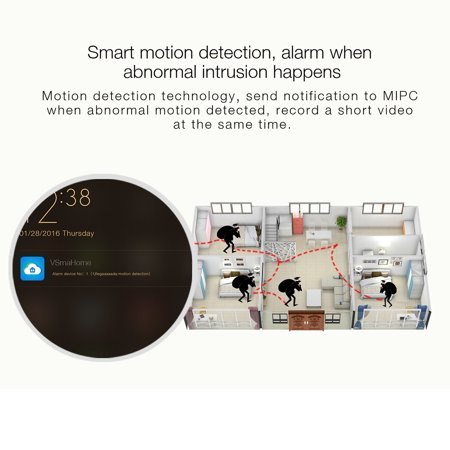 INSMA 1080P/HD Camera Wireless IP Camera with 2 Way Audio Motion Detect,  Night Vision, Smart APP for for Pet Baby Monitor, Home Security Camera  Motion