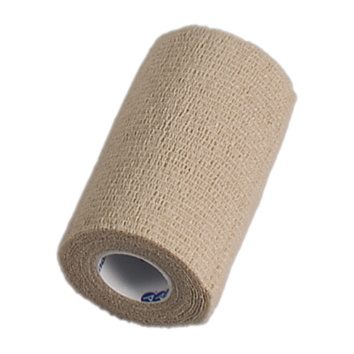 "Dynarex Sensi Wrap Self Adherent Bandage Roll 4""X5 Yards # 3174 - 1 Ea, 2 Pack"