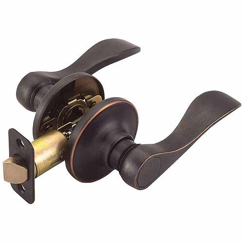 Design House 700526 Springdale 2-Way Latch Passage Door Handle, Oil Rubbed Bronze Finish
