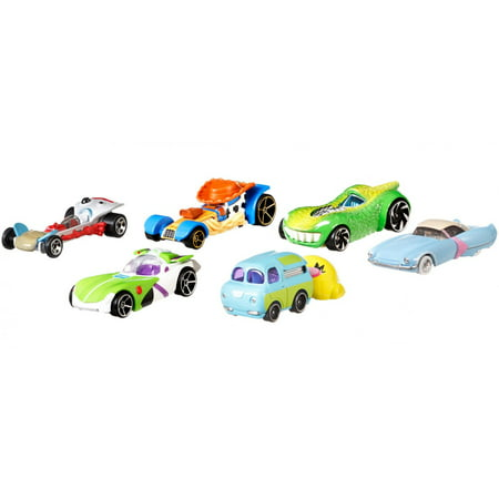 Hot Wheels Toy Story 4 Character Cars (Styles May Vary)