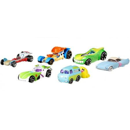 Hot Wheels Toy Story 4 Character Cars (Styles May Vary)