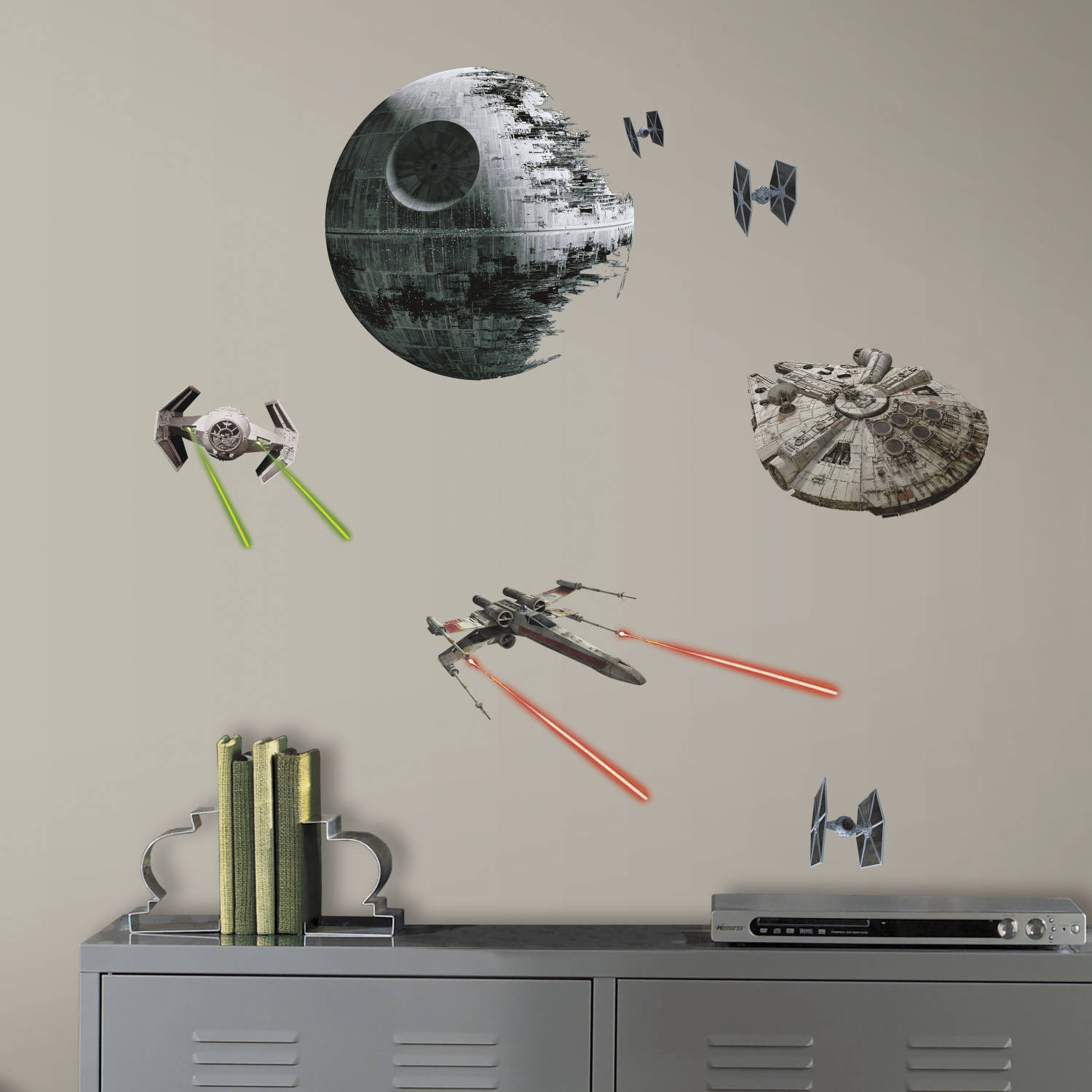 roommates star wars episode vi spaceships peel and stick