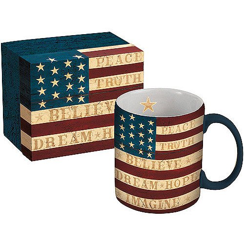 Lang 14 Ounce Ceramic Mug With Gift Box Assorted Patterns