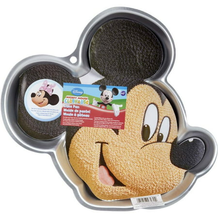 2105-7070, Wilton Micky Mouse Clubhouse Mickey Mouse Cake Pan - Mickey Mouse Birthday Cake Pan