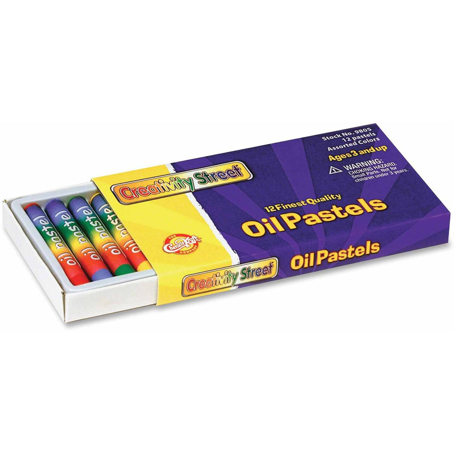 ChenilleKraft 12-Piece Oil Pastels Set