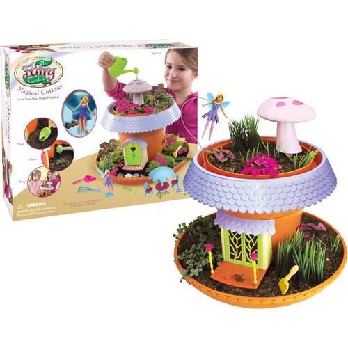 My Fairy Garden Freya S Magical Cottage Walmart Com Walmart Com