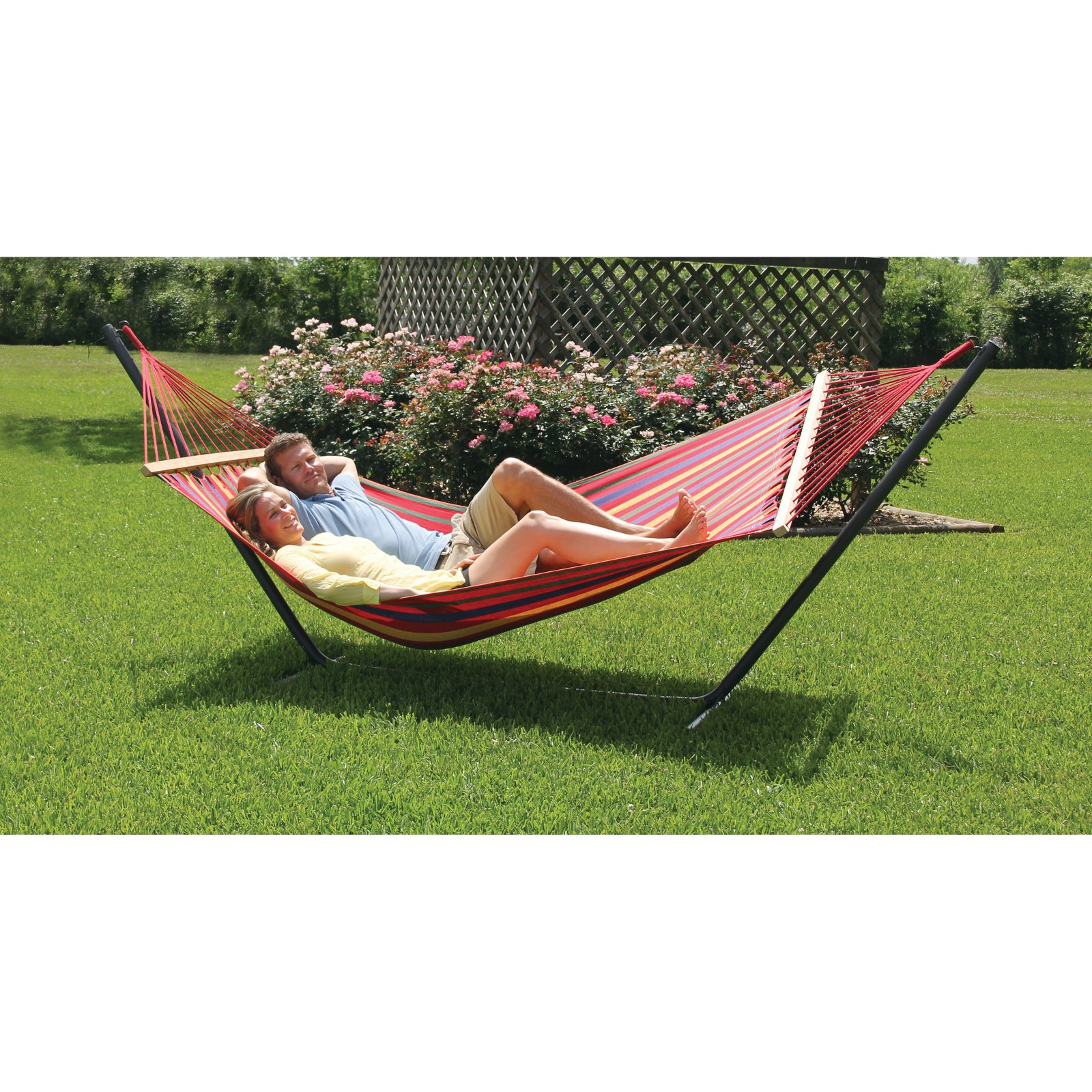 Click here to buy Tex Sport Hammock Cedar Point with Stand by Tex Sport.