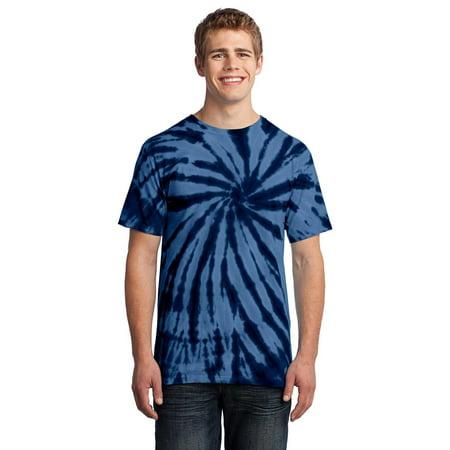 Port   Company - Port Company PC147 Mens Tie Dye T-Shirt - Navy - 3X-Large  - Walmart.com 3bfcb2042141