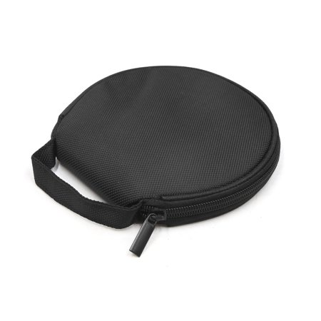2pcs Universal Black Zipper 18 CDs Capacity CD VCD DVD Case Bag Holder for Car - image 1 of 3