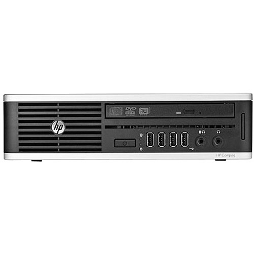 HP Compaq 8200 Elite B2B15UT Small Form Factor Desktop PC with Intel Core i3-2120 Processor, 2GB Memory, 750GB Hard Drive and Windows 7 Professional